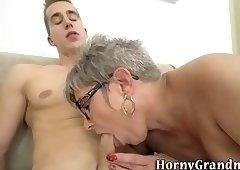 Finger banged granny fuck