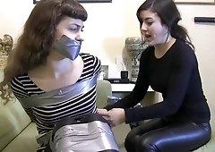 Roommates tape bondage
