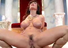 Curvy ass milf welcomes the heavy dick in her tiny butt hole