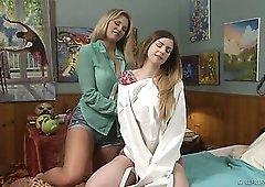 Incredibly hot and voracious lesbian GF Stella Cox thirsts for orgasm