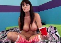 Horny pornstar Sophie Dee in Hottest Big Ass, Redhead porn scene