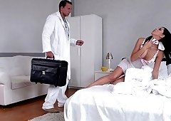 Kira Queen's tight love hole is all a kinky doctor is interested in