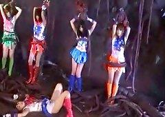 Airi Hayasaka,Nozomi Hazuki,Uta Kohaki,Miho Tachibana,Ayumu Sena in Sailorprism Afterstory
