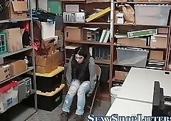Real thief rides mall cop