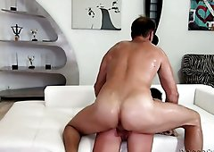 Unstoppable cocksman Rocco Siffredi is banging Nataly Gold like a boss