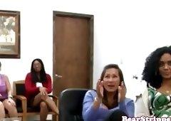 My cocksucking wife interracially facialized