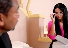 Amazing Anissa Kate knows what a kinky guy wants from her