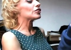 Naughty blonde mom with amazing big tits Sammie Sparks loves to fuck