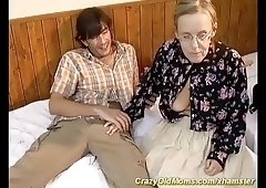 anal Granny sex first