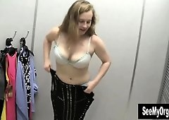Huge-Titted Lili Switching Her Clothes
