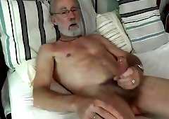 Silver Daddies Jerking Off