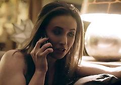 Bratty hollywood actress Casey Calvert loses sex bet with stuntman