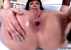 Fine-looking buxomy MILF Dana DeArmond in hardcore porn video