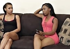 hot black chicks sure know how to please each others cunts
