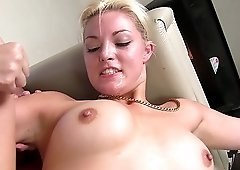 Beautiful Jenna Ivory got her tight ass oiled up before banging