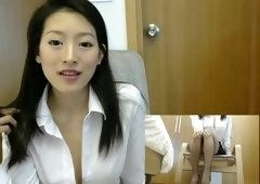 two camers in japan office