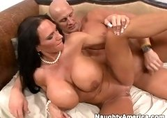 Blow job sex video featuring Christian and Lisa Lipps