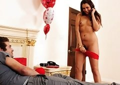 Allie Haze Valentine's Gift For Her Boylet