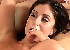 Tight brunette amazing amateur anal experience