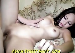 Smallish Chinese stunner is constantly having lovemaking for currency and likes doing her job every time