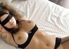 Cosplay nude blow job