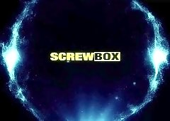 Screwbox - Valentina Nappi in lingerie strip show getting naked