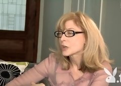 Amazing pornstar Nina Hartley in Fabulous Reality, Stockings adult video