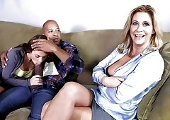 Sexy Mom Phyllisha Anne shares BBC With Haley Sweet