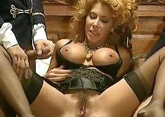 Julia bond anal gangbang