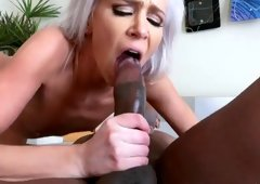 Delightful platinum Kacey Jordan having fantastic hardcore sex