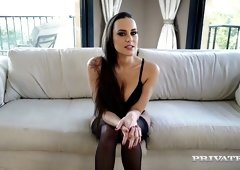 Hot interview of sex-appeal porn actress Mea Melone