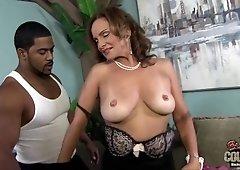 Hot GILF Rebecca Bardoux Interracial Sodomy