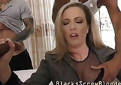 Ho banged with black dick