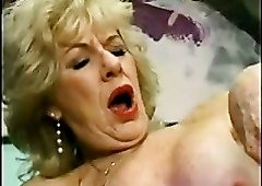 Diane Richards is a nasty granny and she's got a five star pussy