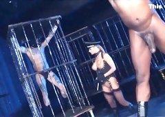 Best pornstar Cathy Heaven in exotic lingerie, blonde sex clip
