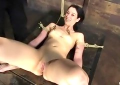 Lovely January Seraph acting in BDSM video