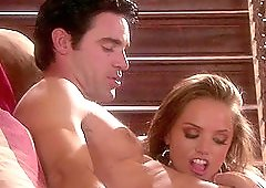 Tori Black seduces a guy on a high class party to fuck