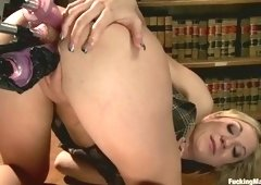 Bonny Amy Brooke gets her ass fucked very hard
