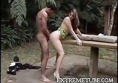 clips sex Outdoor tranny
