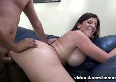 Sara jay and miya stone ride massive cock of ralph long