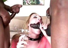 Hottest pornstar Lauren Phoenix in exotic big dick, swallow porn clip