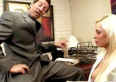 Fabulous pornstar Angelina Ash in hottest big tits, blonde xxx scene