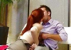 Penny Pax Redhead Nerdy Slut