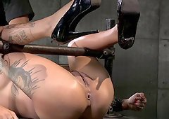 Sexy Bonnie Rotten will endure anything for her sexy masters