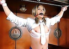Sissy boy in bondage