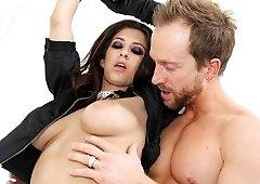 Karina White, Shagged By Ryan's Hard Belly Stick