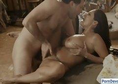 Huge boobs MILF Ava Addams hard pounded