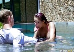 Sex With Neighbor In The Water