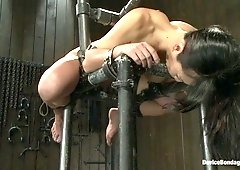 Tia Ling  Isis Love in Every last orgasm will be had - a bondage crusade - DeviceBondage