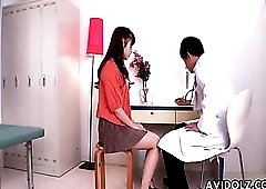 Doctor gets dirty with his Japanese teen patient